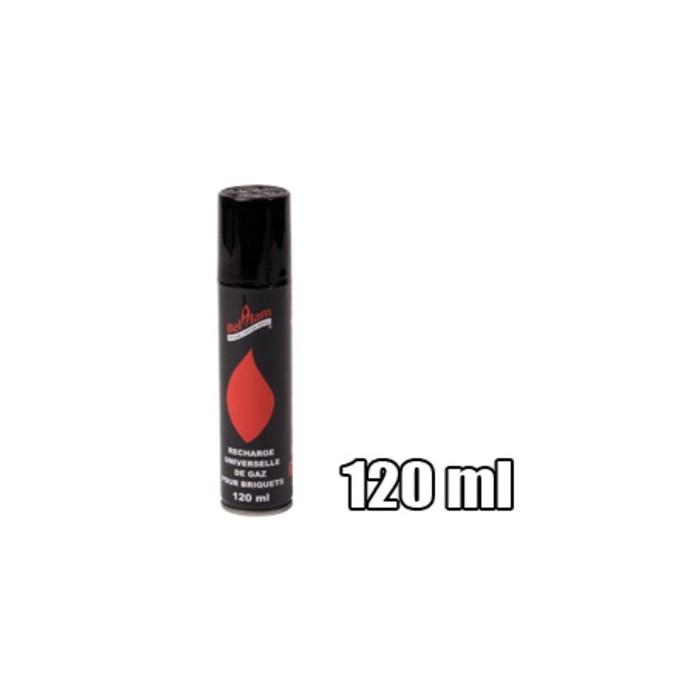 Gaz pour briquet recharge de 120ml de marque belflam - Recharge gaz briquet ...